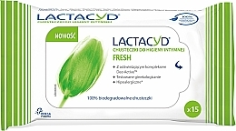 Fragrances, Perfumes, Cosmetics Intimate Hygiene Wipes - Lactacyd Fresh Intimate Wipes