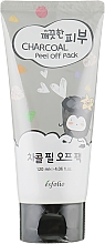 Fragrances, Perfumes, Cosmetics Facial Charcoal Peel-Off Mask - Esfolio Pure Skin Charcoal Peel Off Pack