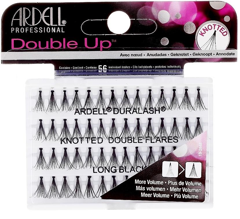 False Lashes - Ardell Double Up Long Black Lashes