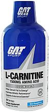 Fragrances, Perfumes, Cosmetics Liquid L-Carnitine 1500, blue raspberry - GAT Sport L-Carnitine Amino Acid Blue Raspberry