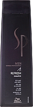Fragrances, Perfumes, Cosmetics Refreshing Shampoo - Wella Wella SP Men Refresh Shampoo