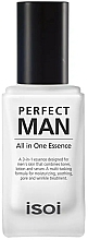 Fragrances, Perfumes, Cosmetics Men's Skin Essence - Isoi Perfect Man All in One Essence