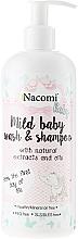 Fragrances, Perfumes, Cosmetics Baby Wash Emulsion - Nacomi Baby Emulsia