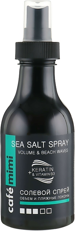 "Salt Spray ""Volume & Beach Waves"" - Cafe Mimi Sea Salt Spray Volume & Beach Waves"