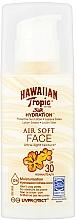 Fragrances, Perfumes, Cosmetics Sun Lotion for Face - Hawaiian Tropic Silk Hydration Air Soft Face Protective Sun Lotion SPF 30