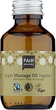 Fragrances, Perfumes, Cosmetics Massage Body Oil - Fair Squared Argan Massage Oil Together