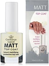 Fragrances, Perfumes, Cosmetics Nail Dry Top Coat - Constance Carroll Matt