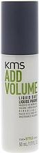 Fragrances, Perfumes, Cosmetics Liquid Hair Powder - KMS California Addvolume Liquid Dust