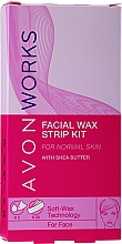Fragrances, Perfumes, Cosmetics Face Wax Strips - Avon Works For Face & Brown