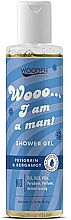 Fragrances, Perfumes, Cosmetics Shower Gel - Wooden Spoon I Am A Man Shower Gel