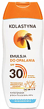 Fragrances, Perfumes, Cosmetics Sunscreen Emulsion - Kolastyna Suncare Emulsion SPF 30