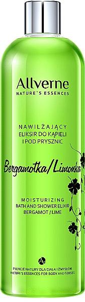 "Bath and Shower Cream ""Bergamot and Lime"" - Allverne Nature's Essences Cream Bath and Shower"
