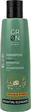 Fragrances, Perfumes, Cosmetics Shampoo for Hair Shine - GRN Essential Elements Brillance Calendula & Hemp Shampoo