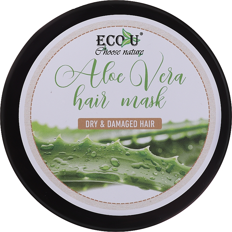 Dry & Damaged Hair Mask - Eco U Aloe Mask