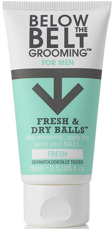 Intimate Gel Wash for Men - Below The Belt Grooming Fresh & Dry Fresh