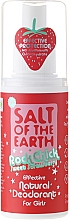 Fragrances, Perfumes, Cosmetics Natural Deodorant Spray - Salt of the Earth Rock Chick Girls Sweet Strawberry Natural Deodorant