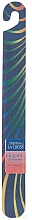Fragrances, Perfumes, Cosmetics Nail File, 18 cm, blue-green & yellow - Sally Hansen La Cross Elegant Emery Nail Shaper