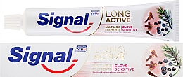 Fragrances, Perfumes, Cosmetics Toothpaste - Signal Long Active Nature Elements Clove Sensitive