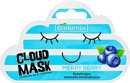 "Fragrances, Perfumes, Cosmetics Facial Cloud Mask ""Berries"" - Bielenda Cloud Mask Merry Berry"