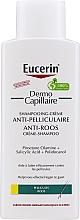 Fragrances, Perfumes, Cosmetics Anti-Dendruff Hair Shampoo - Eucerin DermoCapillaire Anti-Dandruff Cream Shampoo