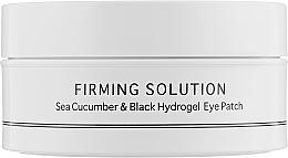 Fragrances, Perfumes, Cosmetics Sea Cucumber & Powdered Black Pearl Hydrogel Eye Patch, standard size - BeauuGreen Sea Cucumber & Black Hydrogel Eye Patch