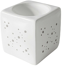 Fragrances, Perfumes, Cosmetics Square Aroma Lamp, white - Flagolie By Paese Cube Fireplace White