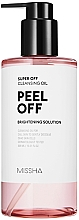 Fragrances, Perfumes, Cosmetics Hydrophilic Oil with Peeling Effect - Missha Super Off Cleansing Oil Peel Off