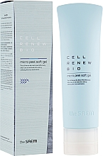 Fragrances, Perfumes, Cosmetics Gentle Cleansing Cell Renew Peeling Gel - The Saem Cell Renew Bio Micro Peel Soft Gel