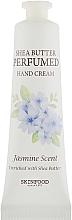 Fragrances, Perfumes, Cosmetics Hand Cream - Skinfood Shea Butter Perfumed Hand Cream Jasmine Scent