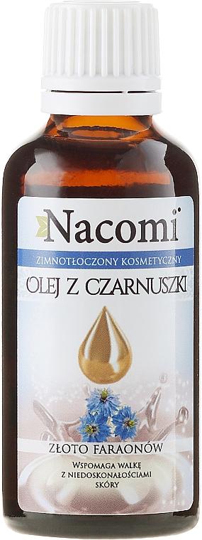 Face & Body Black Cumin Oil - Nacomi Olej Z Czarnuszki Złoto Faraonów