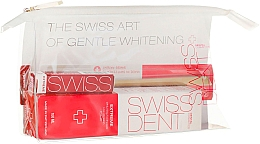 Fragrances, Perfumes, Cosmetics Set - Swissdent Extreme Promo Kit (toothpaste/50ml+mouth/spr/9ml+soft/toothbrush/1pc+bag)