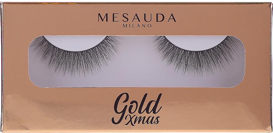 False Lashes - Mesauda Milano Gold XMas Instant Glam 203