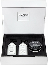 Fragrances, Perfumes, Cosmetics Set - Balmain Paris Hair Couture Moisturizing Care Set (shm/300ml + cond/300ml + mask/200ml)