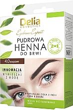 Fragrances, Perfumes, Cosmetics Brow Henna - Delia Cosmetics Eyebrow Expert Brow Henna