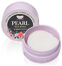 Fragrances, Perfumes, Cosmetics Pearl & Shea Butter Hydrogel Eye Patch - Petitfee & Koelf Pearl & Shea Butter Eye Patch