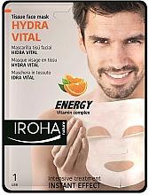 Fragrances, Perfumes, Cosmetics Face Mask - Iroha Nature Hydra Vital Energy Vitamin Complex Tissue Face Mask