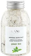 "Fragrances, Perfumes, Cosmetics Mineral Bath Salt ""Green Tea"" - Kanu Nature Mineral Green Tea Bath Salt"