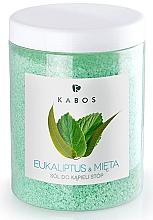 Fragrances, Perfumes, Cosmetics Foot Bath Salt - Kabos Eucalyptus & Mint Foot Bath Salt