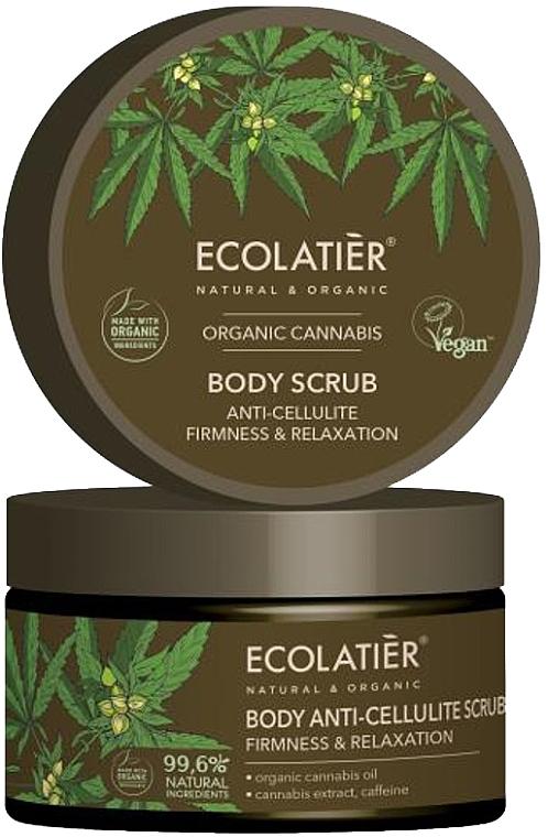 "Body Scrub ""Firmness & Relaxation"" - Ecolatier Organic Cannabis Body Scrub"