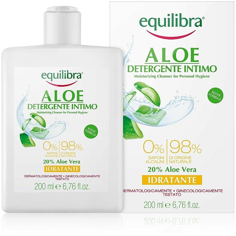 Moisturizing Intimate Wash Gel - Equilibra Aloe Moisturizing Cleanser For Personal Hygiene