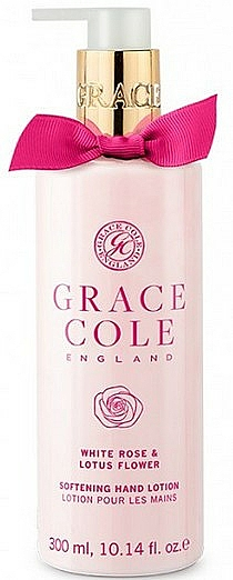 Hand Lotion - Grace Cole White Rose & Lotus Flower Hand Lotion