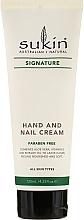 Fragrances, Perfumes, Cosmetics Hand and Nail Cream - Sukin Hand & Nail Cream