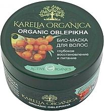 "Fragrances, Perfumes, Cosmetics Bio Hair Mask ""Organic Oblepikha"", deep repair & nourishment - Fratti HB Karelia Organica"