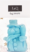 """Fragrances, Perfumes, Cosmetics Natural Handmade Soap """"Snowman"""" with Fruit Scent - LaQ Happy Soaps Natural Soap"""