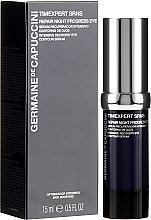 Fragrances, Perfumes, Cosmetics Eye Repair Serum - Germaine de Capuccini Timexpert SRNS Repair Night Progress Eye