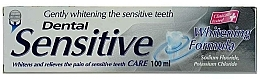 Fragrances, Perfumes, Cosmetics Gentle Whitening Toothpaste - Dental Sensitive Whitening Formula