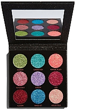 Fragrances, Perfumes, Cosmetics Glitter Palette - Makeup Revolution Pressed Glitter Palette Abracadabra