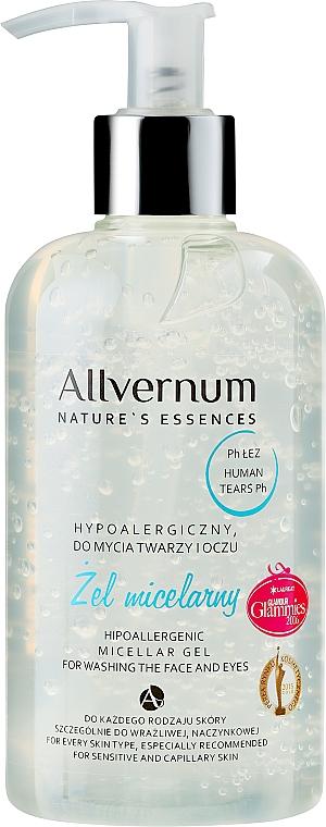 Hypoallergenic Micellar Gel - Allverne Nature's Essences Micellar Gel