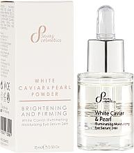 Fragrances, Perfumes, Cosmetics Illuminating Eye Serum - Sayaz Cosmetics White Caviar Illuminating Moisturizing Eye Serum 24H