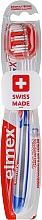 Fragrances, Perfumes, Cosmetics Toothbrush, blue, 43613 - Elmex Toothbrush Caries Protection InterX Medium